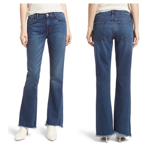 Current/Elliott Denim - Current/Elliott The Flip Flop Frayed Jeans Sz 29